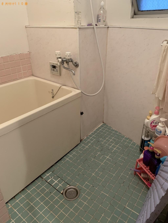 浴室の床やマットをきれいにしてほしい。