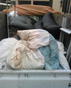 鹿児島市で小さな家電、靴・衣類など回収のアフター写真