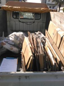 指宿市で資源ゴミ、ガスコンロなど回収のビフォー写真