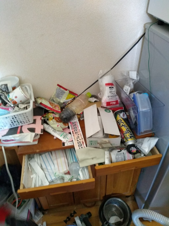 【鹿児島市】不用品回収とハウスクリーニングのご依頼☆リピート割でお安く作業できました!