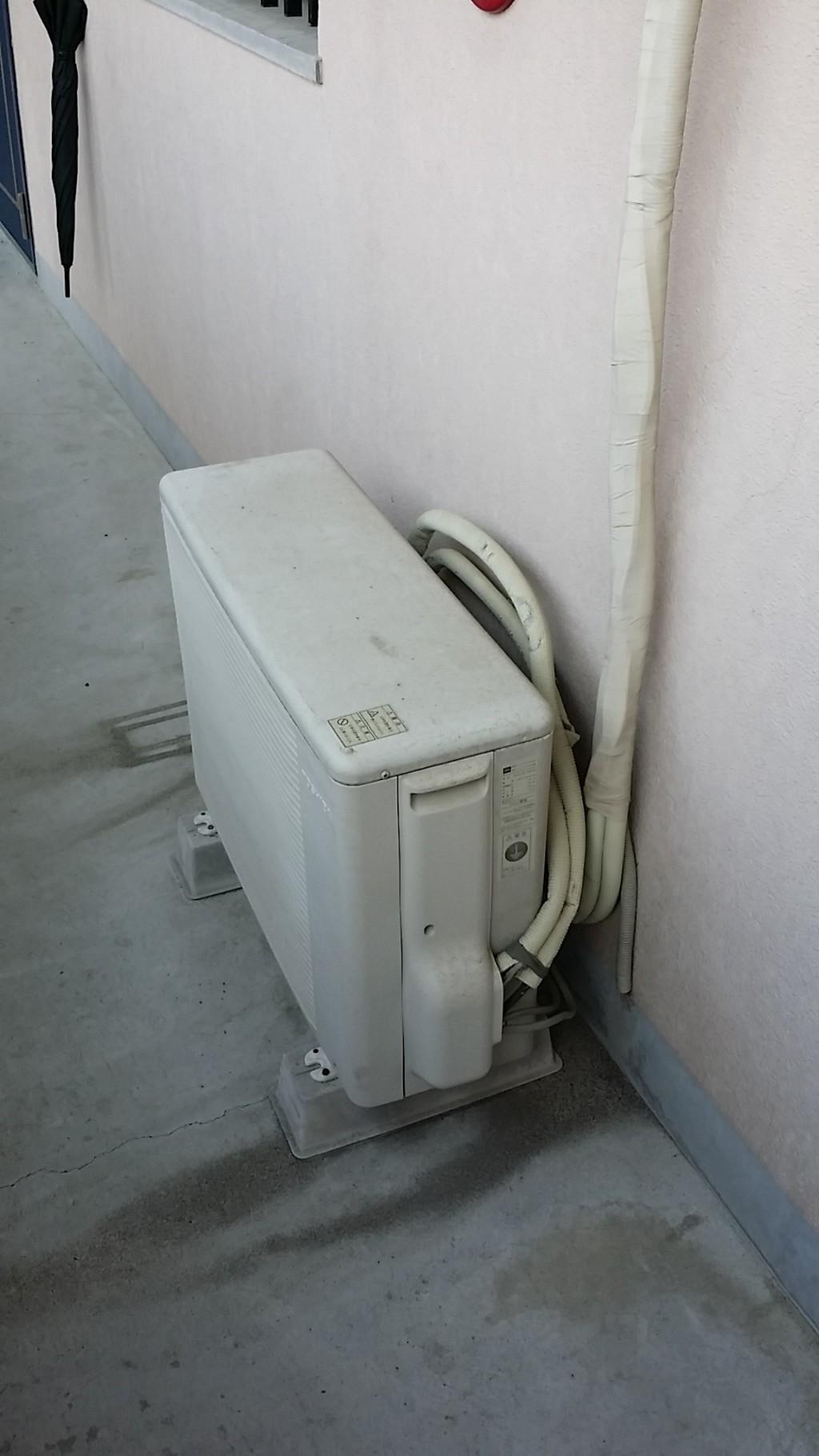 【垂水市】エアコンの取り外しと回収・処分のご依頼 お客様の声
