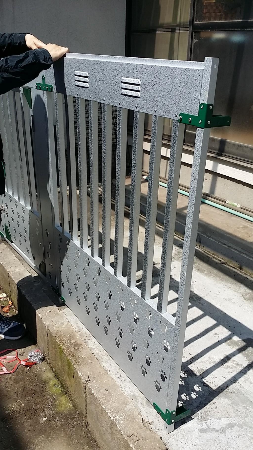 【鹿児島市】犬小屋の組み立て作業☆スタッフの対応にも大変ご満足いただけました!