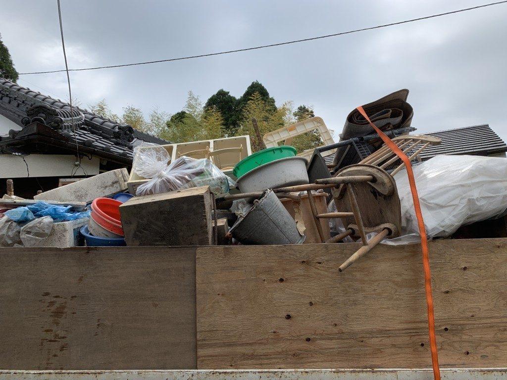 【指宿市】遺品整理で2t1台程度の出張不用品回収・処分ご依頼