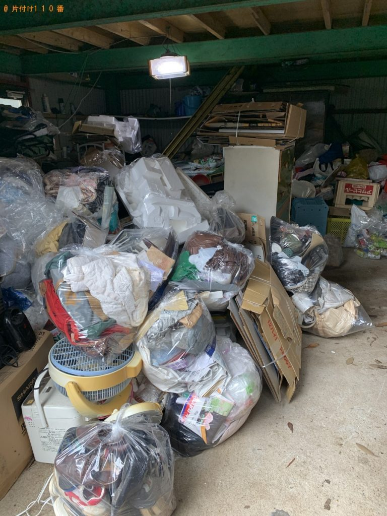 【肝属郡南大隅町】4tトラック1台程度の出張不用品回収・処分ご依頼
