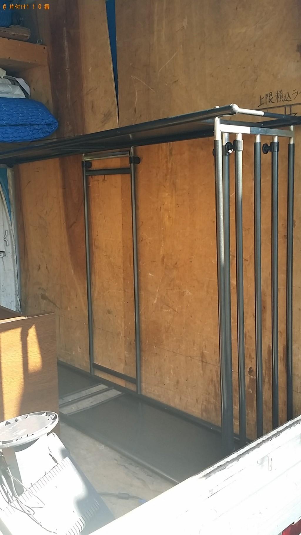 【志布志市志布志町】食器棚、ラックなどの出張不用品回収・処分ご依頼