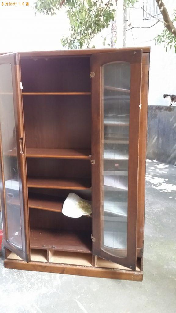 【屋久島町】冷蔵庫と食器棚の出張回収・処分ご依頼