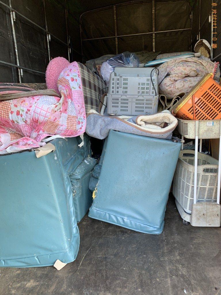 【曽於市財部町】ランドリーラック、布団等の回収・処分ご依頼
