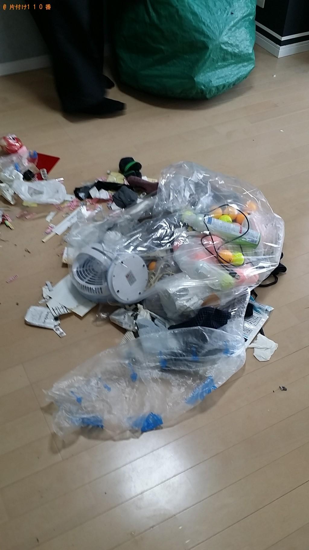 【鹿児島市樋之口町】軽トラック1台程度の出張不用品の回収・処分