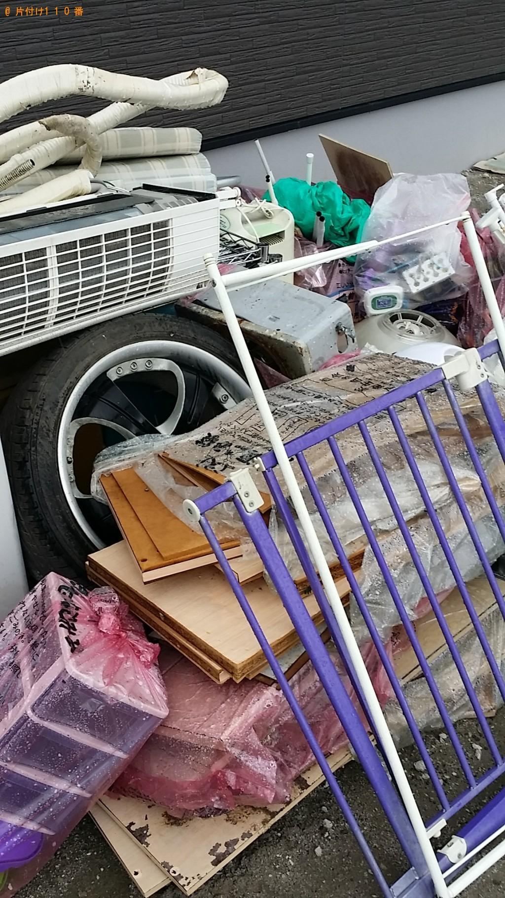 【曽於市財部町】タイヤ、エアコン、家庭ごみ等の回収・処分ご依頼