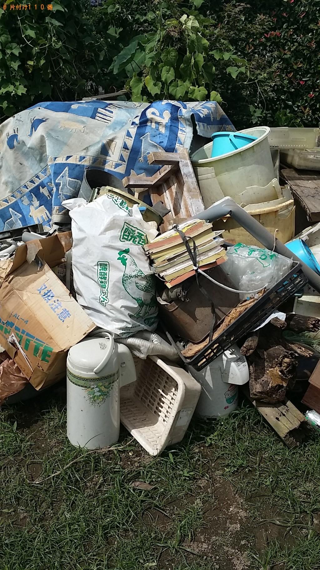 【姶良市】棚、食器、カゴ、バケツ等の回収・処分ご依頼 お客様の声