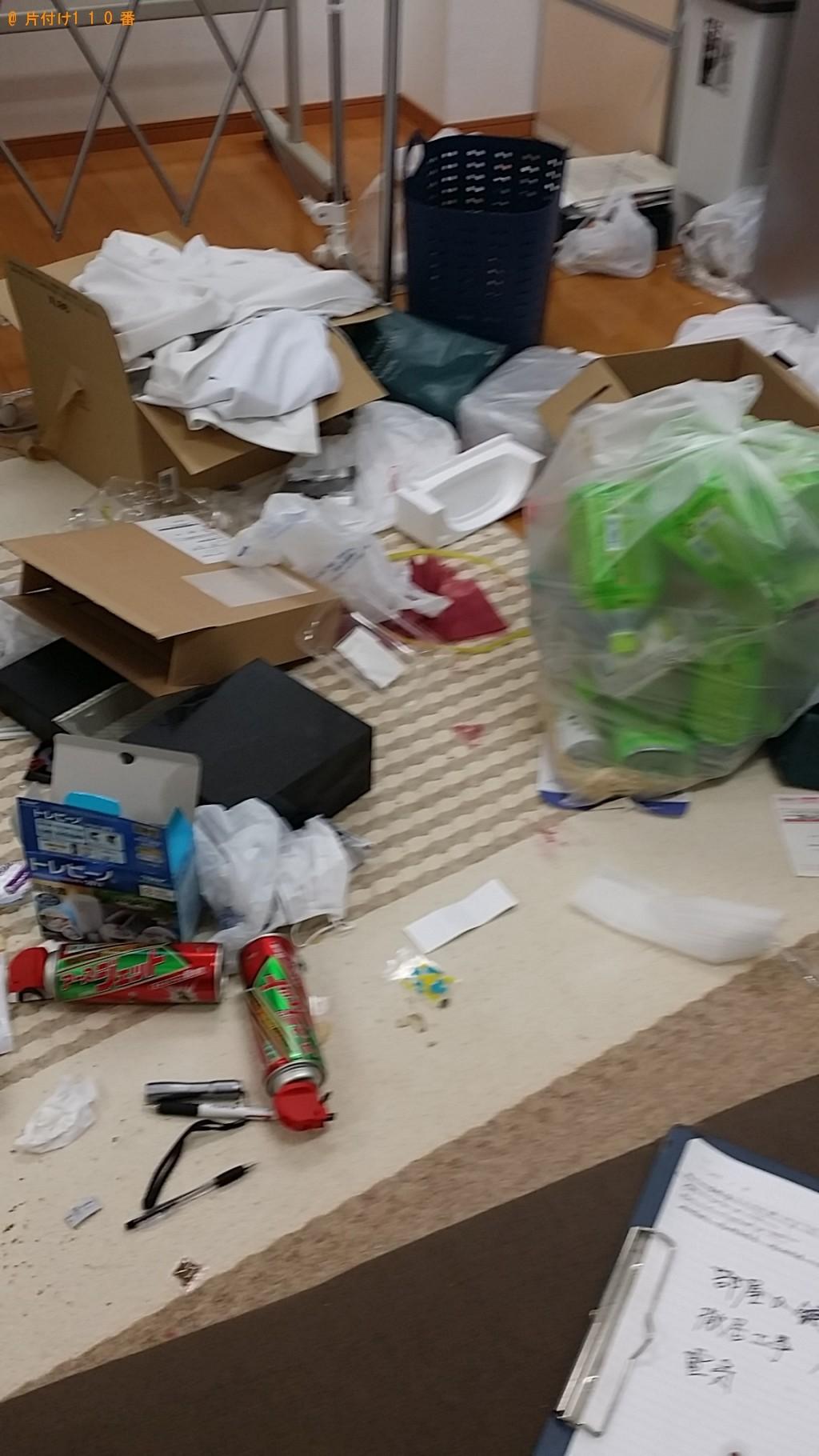 【出水市】部屋の片付け、不用品処分、ハウスクリーニングのご依頼