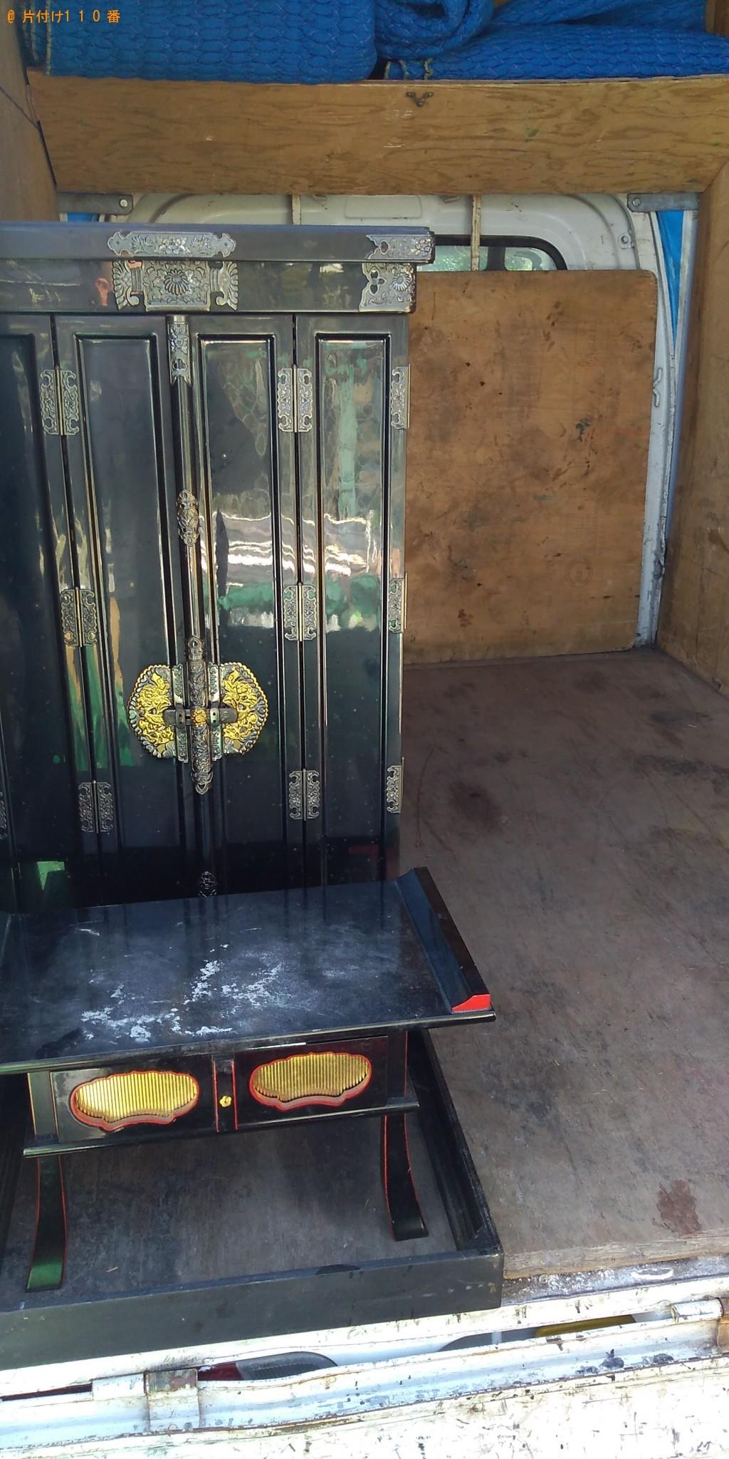 【霧島市溝辺町】仏壇の回収・処分ご依頼 お客様の声