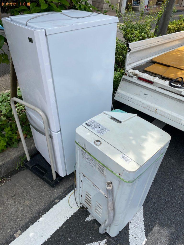【日置市】遺品整理で冷蔵庫、洗濯機の回収・処分ご依頼 お客様の声