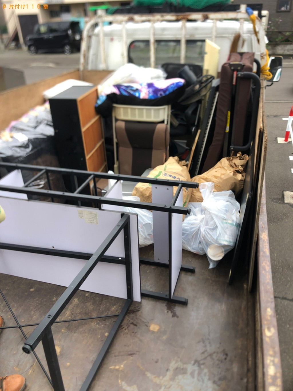 【鹿児島市】ガラステーブル、折り畳みベッド等の回収・処分ご依頼