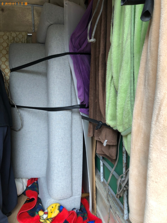 【いちき串木野市】ソファーベッド、自転車の回収・処分ご依頼 お客様の声