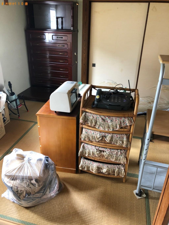 【鹿児島市】タンス、食器棚、学習机、レンジ台等等の回収・処分