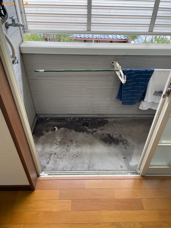 【鹿児島市】冷蔵庫、洗濯機、タンス、布団、モップ等の回収・処分