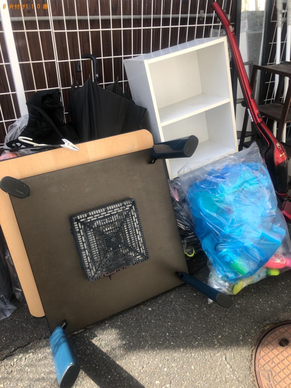 【鹿児島市】こたつ、本棚、掃除機、電子レンジ、プリンタ―等の回収