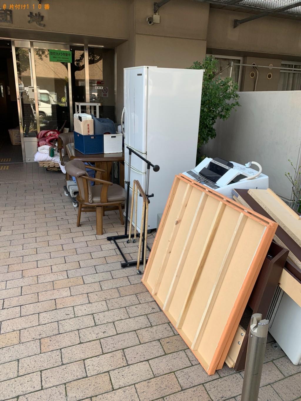 【鹿児島市】タンス、マットレス付きシングルベッド、椅子等の回収