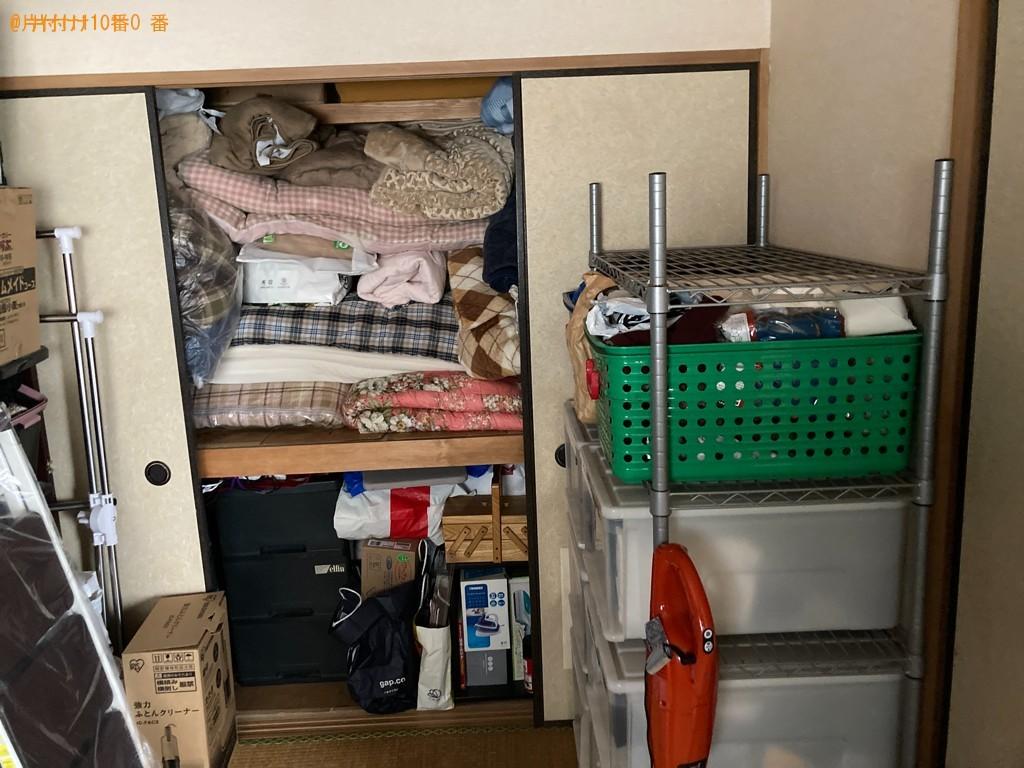 【鹿児島市】布団、ソファー、衣類等の回収・処分ご依頼 お客様の声
