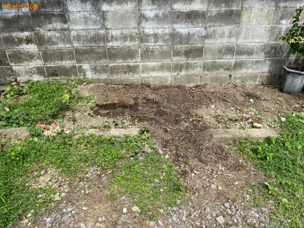 ブロック、草木の根っこの回収・処分ご依頼 お客様の声