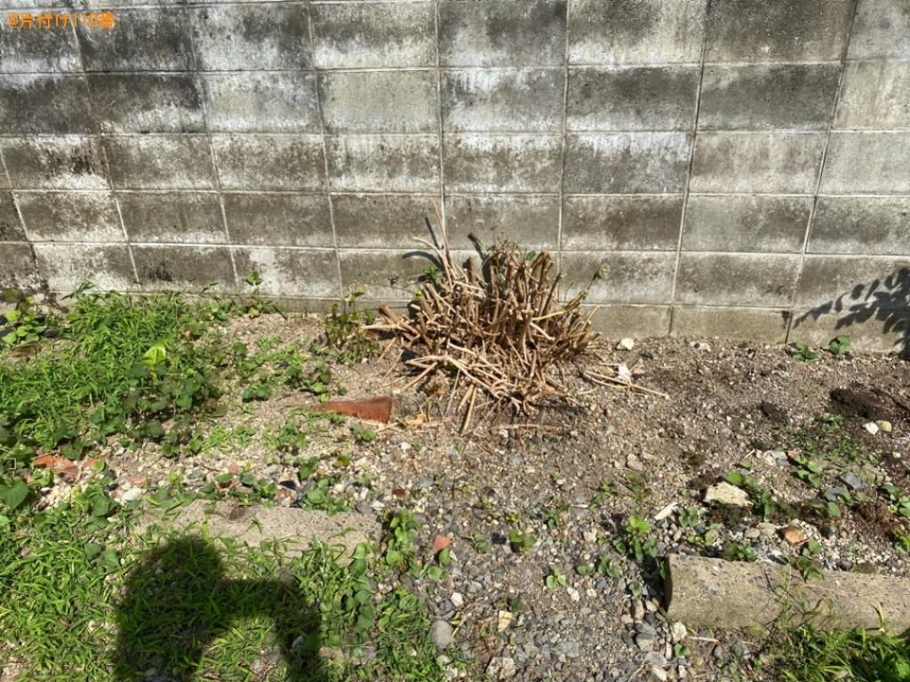 ブロック、木の根っこの回収・処分ご依頼 お客様の声